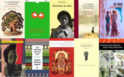 Las portadas de las obras elegidas en este 2019.