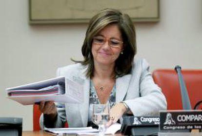 La directora de la Agencia Tributaria, Beatriz Viana. EFE/Archivo