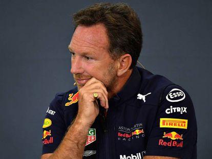 El jefe de Red Bull, Christian Horner.