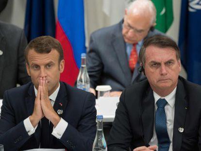 El presidente de Brasil se hizo eco de un comentario en Facebook que se mofaba de la apariencia de Brigitte Macron