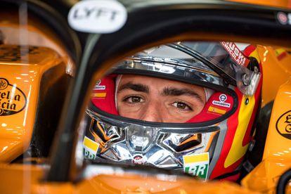Carlos Sainz, en su McLaren en julio de 2019 durante el GP de Gran Bretaña.