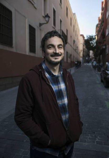 César Perez Herranz, creador del aceite Los Madriles hecho con olivos urbanos de Madrid.