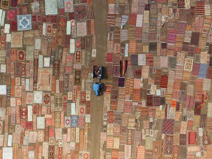 La mágica alfombra turca