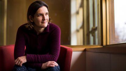 La Premio Nobel de Economía 2019 Esther Duflo, el año pasado en el MIT.