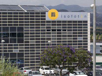 Sede de Isofotón en Málaga.
