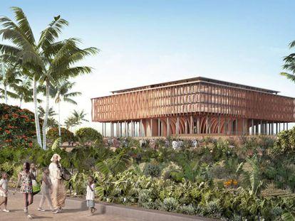 Propuesta de Kéré para el nuevo Parlamento de Benín.