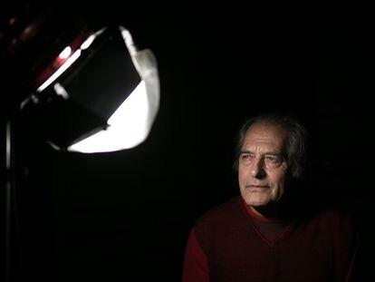 El productor de cine Paco Poch, en Barcelona.