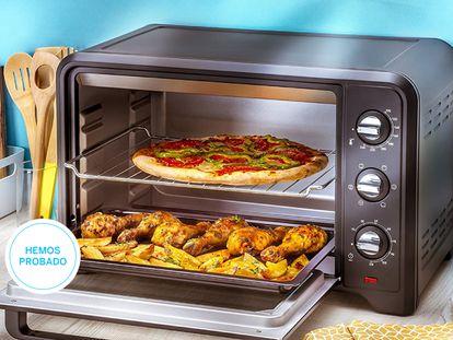 Hemos puesto a prueba los mejores hornos de sobremesa del mercado de grandes marcas como Taurus, Moulinex, Princess o Cecotec.