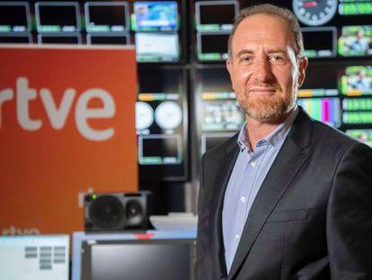 Enric Hernández, en una imagen de archivo distribuida por RTVE.