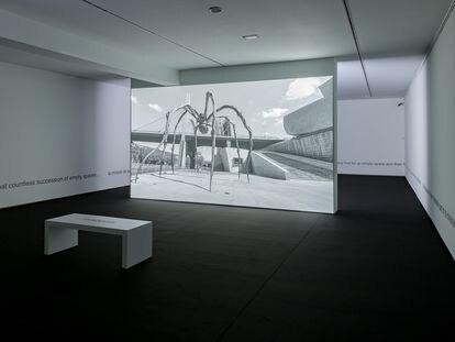 Muntadas: 'La ciudad vacía'. Obra 'Vacuum / Plenum' (2019-2020), en el Museo de Bellas Artes de Bilbao.