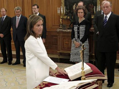 La ministra de Sanidad, Ana Mato Adrover.