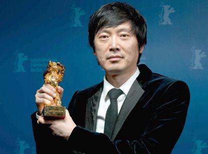 El director chino Diao Yinan, ganador del Oso de Oro de la Berlinale por su película 'Bai Ri Yan Huo.