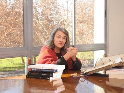 La historiadora chilena Sol Serrano Pérez, fotografiada en 2019.
