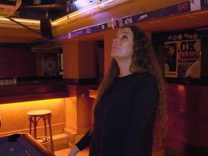 Cristina Lorenzo era camarera en La Vía Láctea desde el 1985-95.