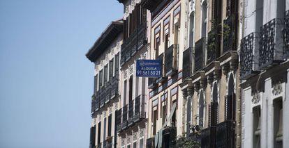 Vivenda en alquiler en el centro de Madrid.