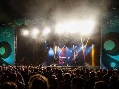 Ambiente durante el festival.