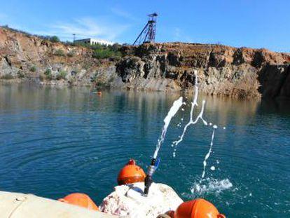 Una laguna andaluza esconde 80.000 metros cúbicos de gas que podrían liberarse de golpe