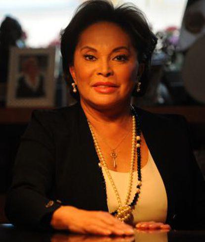 Elba Esther Gordillo, en una foto de archivo.