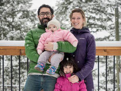 Igma y su familia.