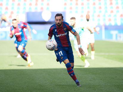 Jose Luis Morales, jugador del Levante.