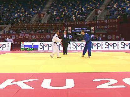 Torneo Grand Slam de judo en Bakú, Azerbaiyán.