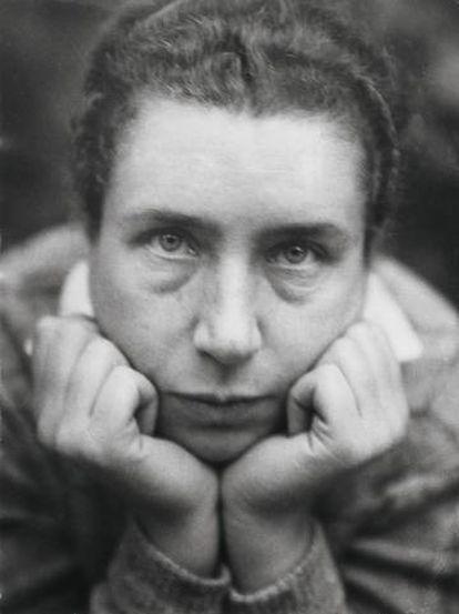 Autorretrato de Lucia Moholy, en 1930. |