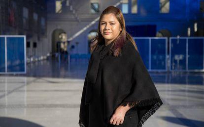 Bianka Gabriela Rodríguez, en Valencia.