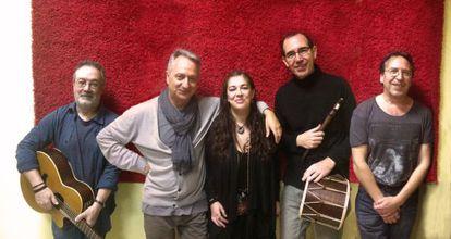 El grupo de folk La Musgaña