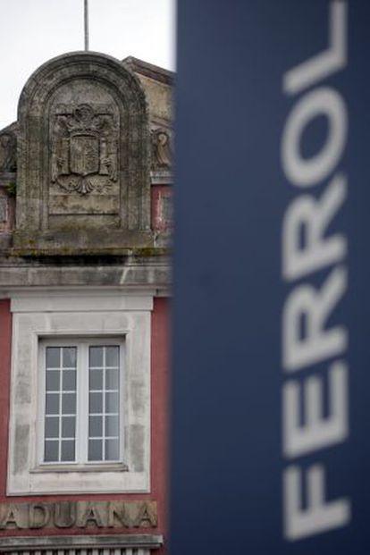 Antiguo edificio de Aduanas en Ferrol