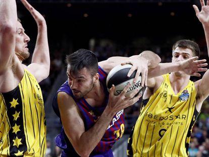 El Barcelona Lassa se enfrenta al Iberostar Tenerife en la primera semifinal de la Copa del Rey de Baloncesto