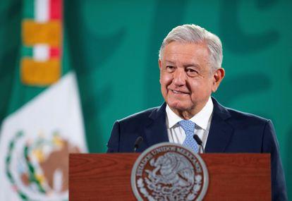 The president of Mexico, Andrés Manuel López Obrador, in a file image.