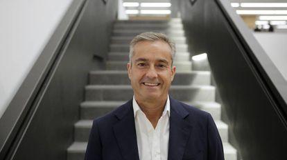 Ángel Cano, en la sede de la escuela de negocios de la Universidad de Navarra en Madrid.