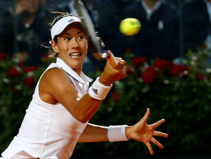 Muguruza, durante el partido contra Venus Williams.