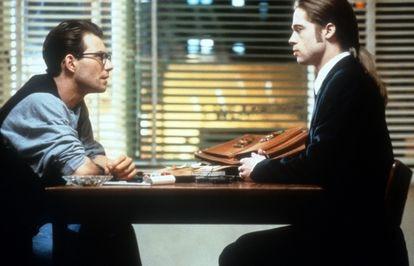 Christian Slater y Brad Pitt, en una escena de 'Entrevista con el vampiro' (1994).