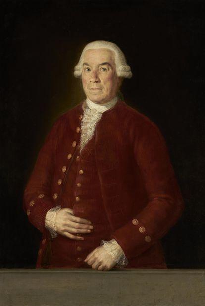 Retrato de Goya de José de Toro-Zambrano y Ureta.