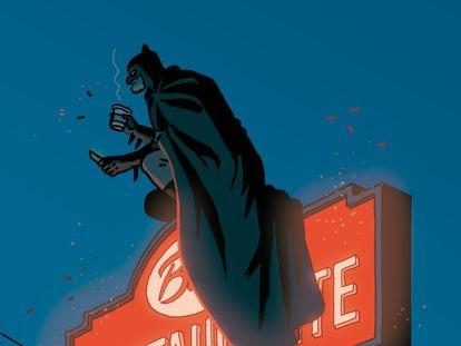 Batman, en una ilustración inédita de Paco Roca.