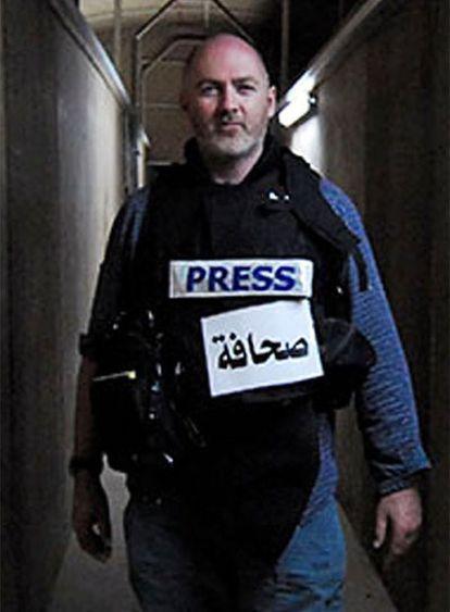 Stephen Farrell, en una imagen de 2007.