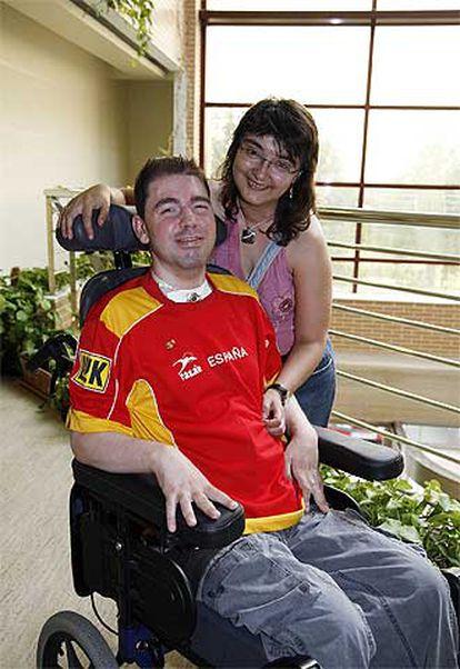 José Carlos Carballo, con su esposa, María Purificación Rodríguez.