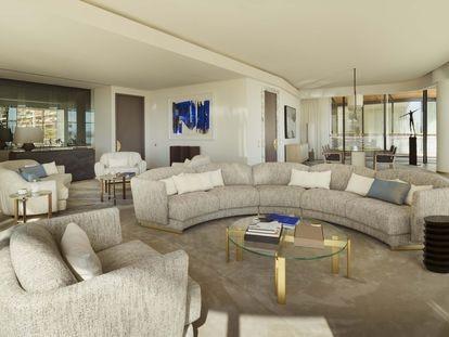 Interior de uno de los apartamentos que se alquilan en el residencial One Monte-Carlo.