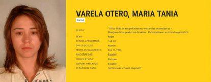 Ficha de la Europool de Tania Varela.