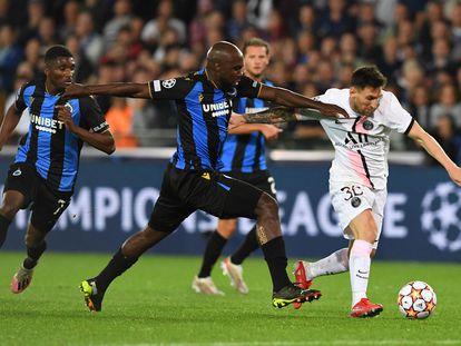 Balanta hostiga a Messi.