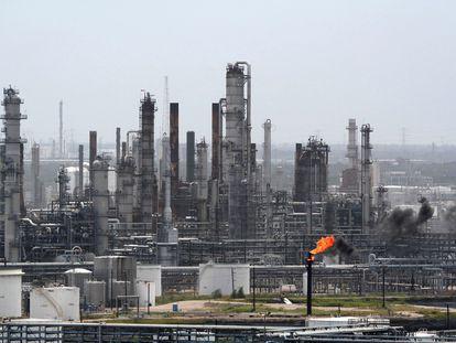 La refinería Deer Park, en Houston (Texas), en una imagen de 2003.
