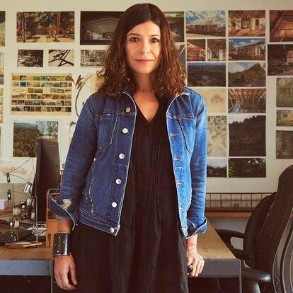 La arquitecta mexicana Rozana Montiel en su oficina de Ciudad de México.