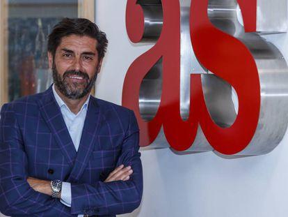 Vicente Jiménez, nuevo director del diario deportivo AS.