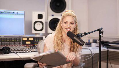 Shakira, será la anfitriona de Beat 1 Radio.