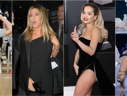Gigi Hadid, Jennifer Aniston, Rita Ora y Ming Xi.