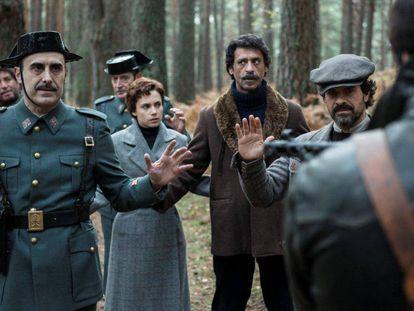 Un fotograma de la primera temporada de la serie 'El Ministerio del Tiempo'.