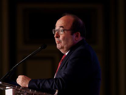 El ministro Miquel Iceta, durante las jornadas Next Generation de elEconomista.