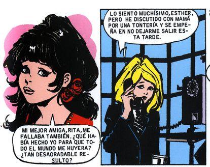 Viñetas de 'Esther y su mundo', de Purita Campos.