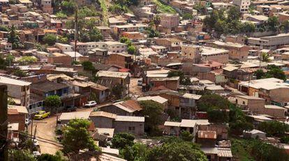 La Colonia Flor del Campo en Tegucigalpa, Honduras.